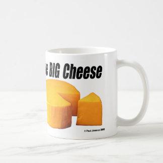 El queso grande, el queso grande taza de café