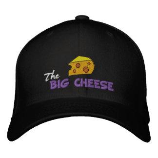 El queso grande gorra bordada