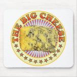 El queso grande v3 tapete de ratones