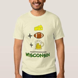 El queso más fútbol más la cerveza iguala camisas