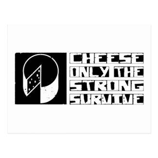 El queso sobrevive postal