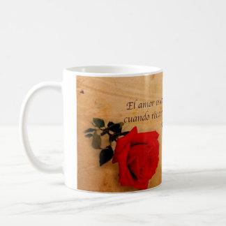 EL Quijote del como del EL Amor es Taza De Café