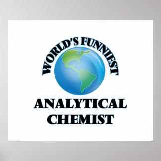El químico analítico más divertido del mundo poster