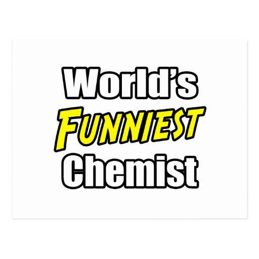 El químico más divertido del mundo postal