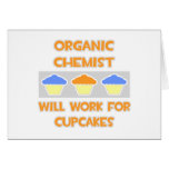 El químico orgánico… trabajará para las magdalenas tarjeta