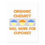 El químico orgánico… trabajará para las magdalenas tarjetas postales