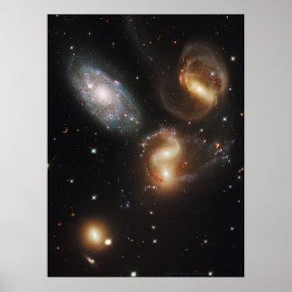 El quinteto 18x24 (20x23) de Stephan Póster
