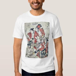 El quinto mes por Katsushika, Hokusai Ukiyoe Camisas