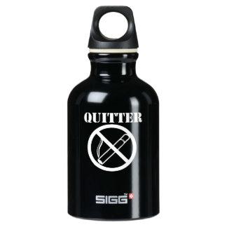 El Quitter abandonó el fumar