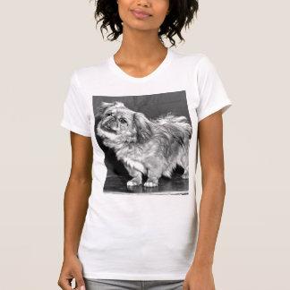 El Quizzicle Pekingese Camisetas