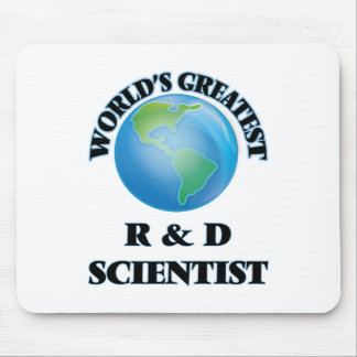 El R más grande del mundo y científico de D Alfombrilla De Raton