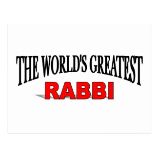El rabino más grande del mundo postales