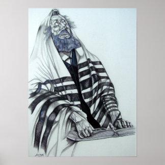El rabino ruega impresiones