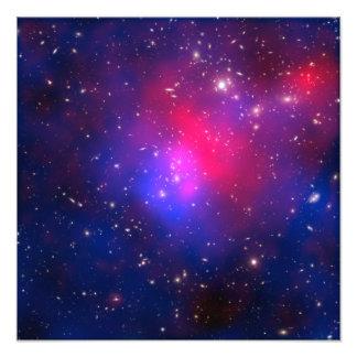 El racimo de Pandora - Abell 2744 galaxias Fotografía