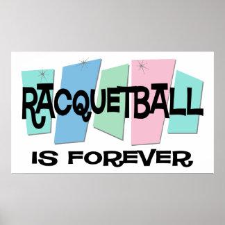 El Racquetball es Forever Impresiones