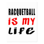 El Racquetball es mi vida Tarjetas Postales