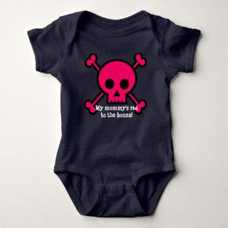 ¡El rad de mi mamá a los huesos! Body Para Bebé