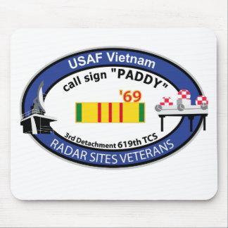 El radar de Vietnam localiza al veterano Tapete De Ratón