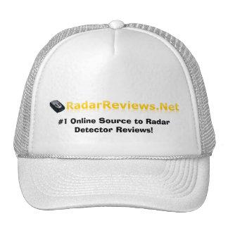 ¡El radar revisa el gorra!