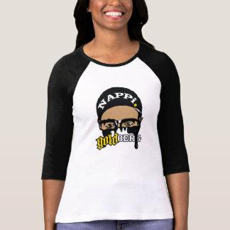 El raglán de la mujer de Nappi Goldberg Camiseta