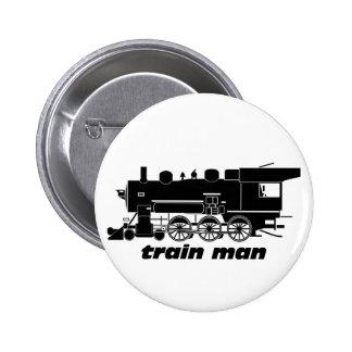 El Railroading modelo del hombre del tren Pins