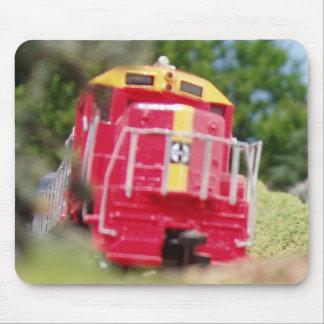 El Railroading modelo en él es el más fino Tapetes De Raton