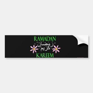 El Ramadán Kareem islámico Pegatina Para Auto