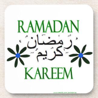 El Ramadán Kareem islámico Posavasos De Bebidas
