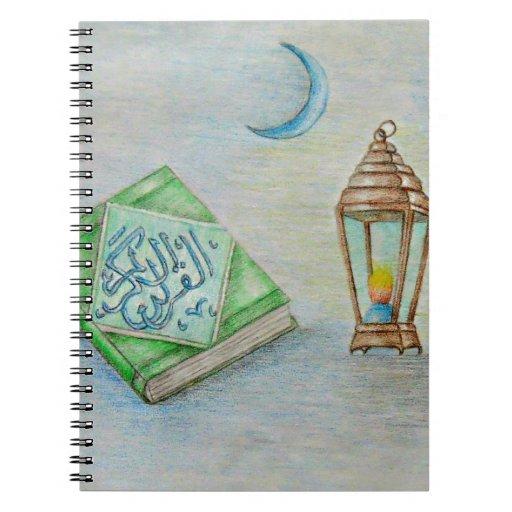 El Ramadán Karim Libros De Apuntes Con Espiral