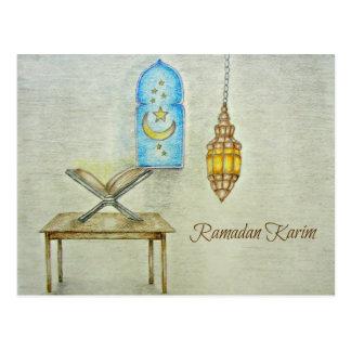 el Ramadán Karim Postal