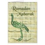 El Ramadán Mubarak Felicitación