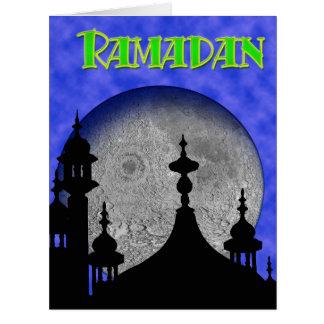 El Ramadán Tarjeta De Felicitación Grande