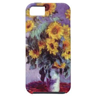 El ramo de girasoles Monet vintage florece arte iPhone 5 Case-Mate Coberturas