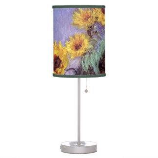 El ramo de girasoles, Monet, vintage florece arte