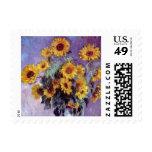El ramo de girasoles, Monet, vintage florece arte Envio