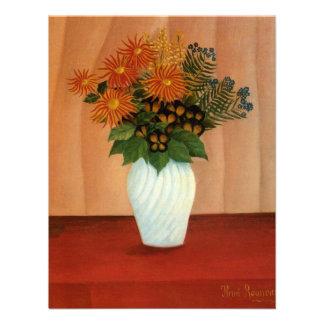 El ramo de Henri Rousseau de flores circa 1900 Invitación Personalizada