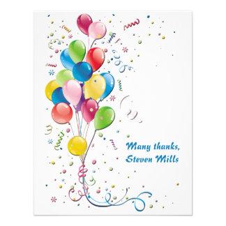 El ramo del globo personalizado le agradece Noteca Invitaciones Personales