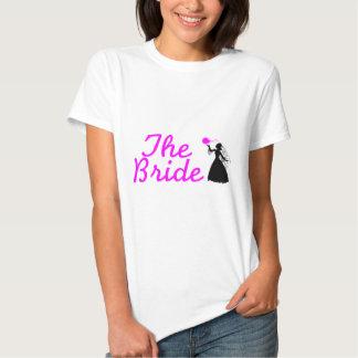 El ramo nupcial de la novia polera