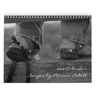 El Ranching 2010 imágenes del calendario de Patric