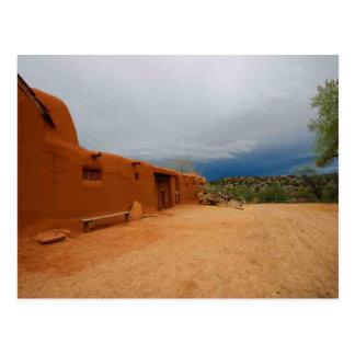 El Rancho de las Golondrinas - Postcard