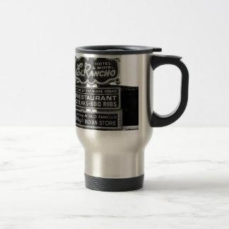 El Rancho Hotel Sign Coffee Mug
