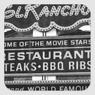 El Rancho Hotel Sign Stickers