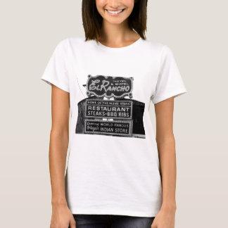 El Rancho Hotel Sign T-Shirt