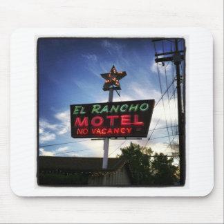 El Rancho Motel Mouse Pad