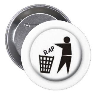 EL RAP CHUPA PIN REDONDO 7 CM