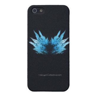 El rapaz - fractal Rorschach iPhone 5 Fundas