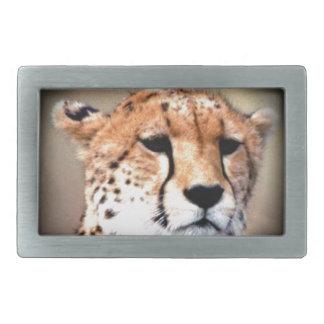 El rasgón del guepardo marca Hakunamatata Hebillas De Cinturon Rectangulares