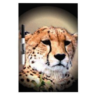 El rasgón del guepardo marca Hakunamatata Pizarras Blancas De Calidad