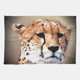 El rasgón del guepardo marca Hakunamatata Toalla De Mano