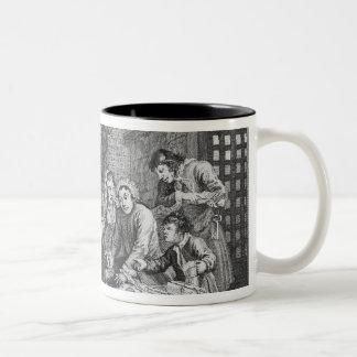 El rastrillo en la prisión taza de café